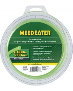 "Weed Eater .080"" x 80' Round Trimmer Line  952701534"